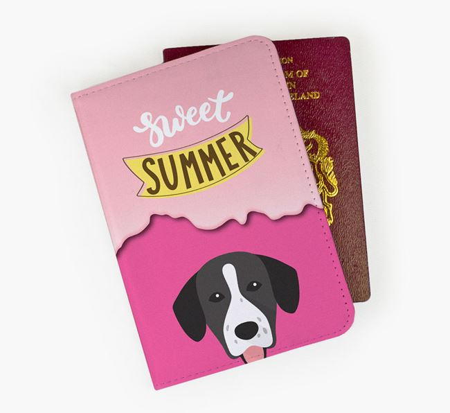 Passport Cover 'Sweet Summer' with Springador Icon