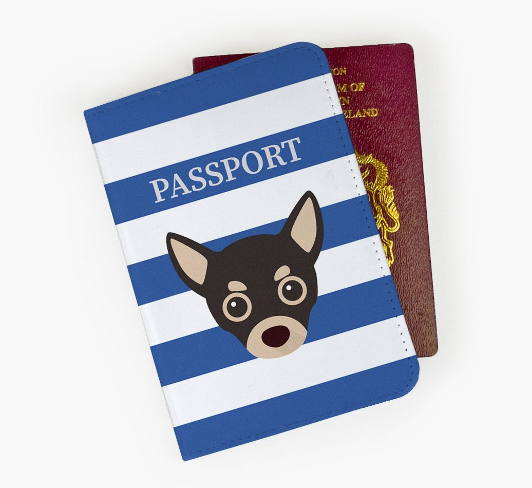 Chihuahua Passport Cover Front