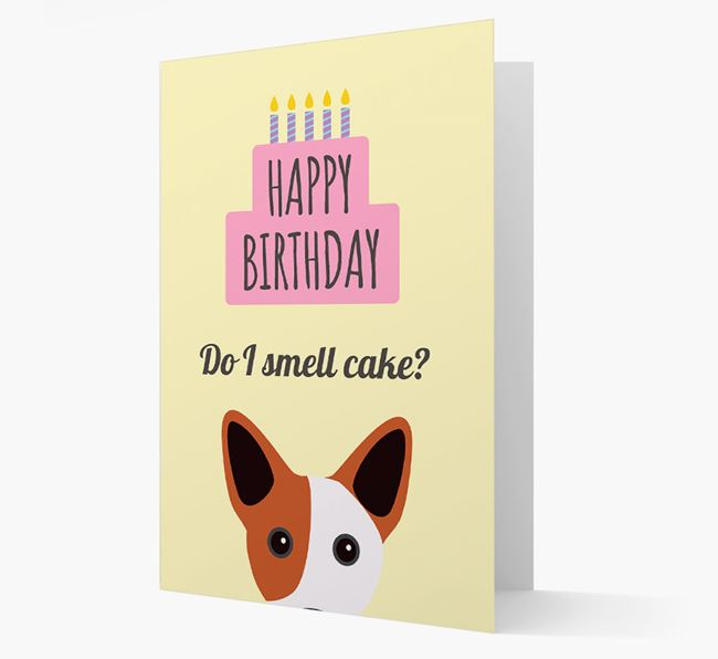 Card 'Do I smell cake?' with Cojack Icon