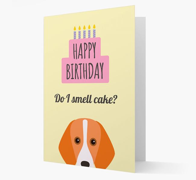 Card 'Do I smell cake?' with Foxhound Icon