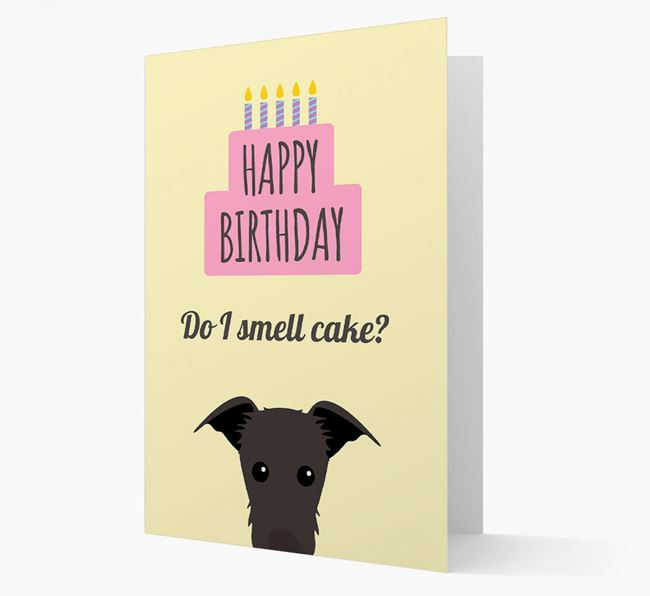 Card 'Do I smell cake?' with Lurcher Icon