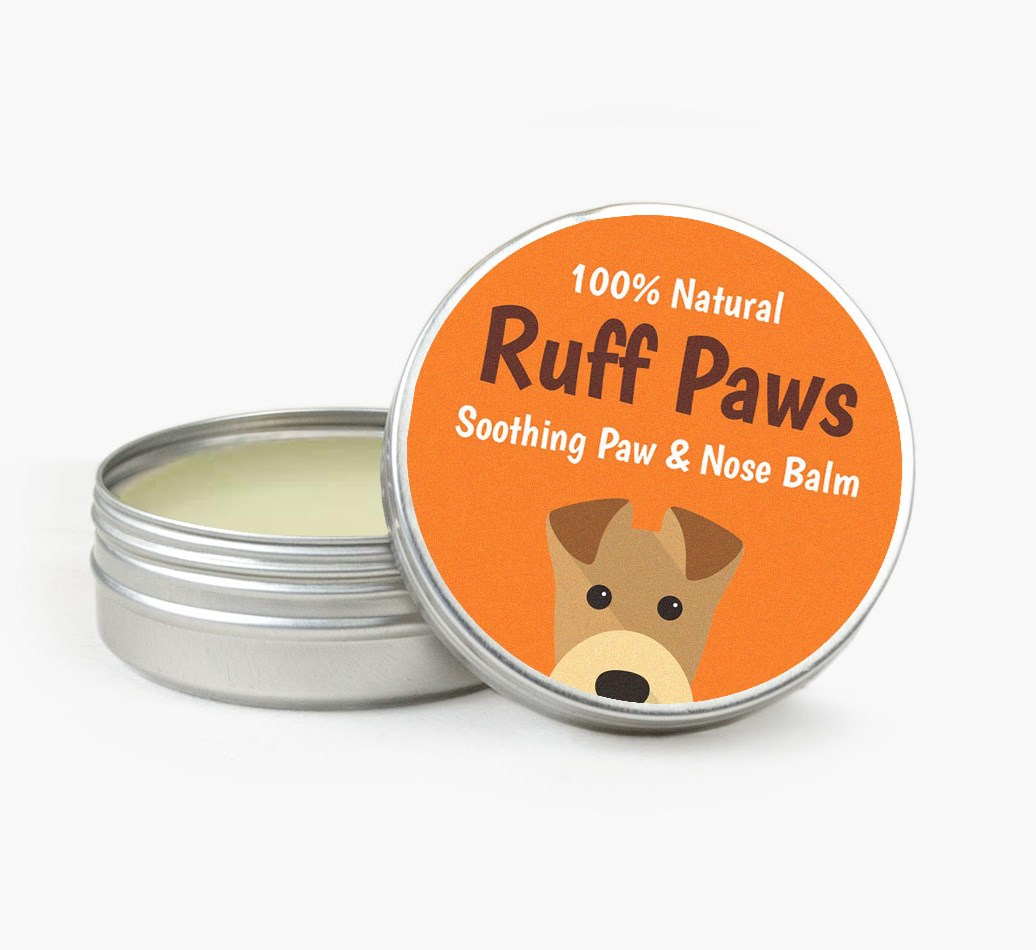 'Ruff Paws' Balm for your Airedale