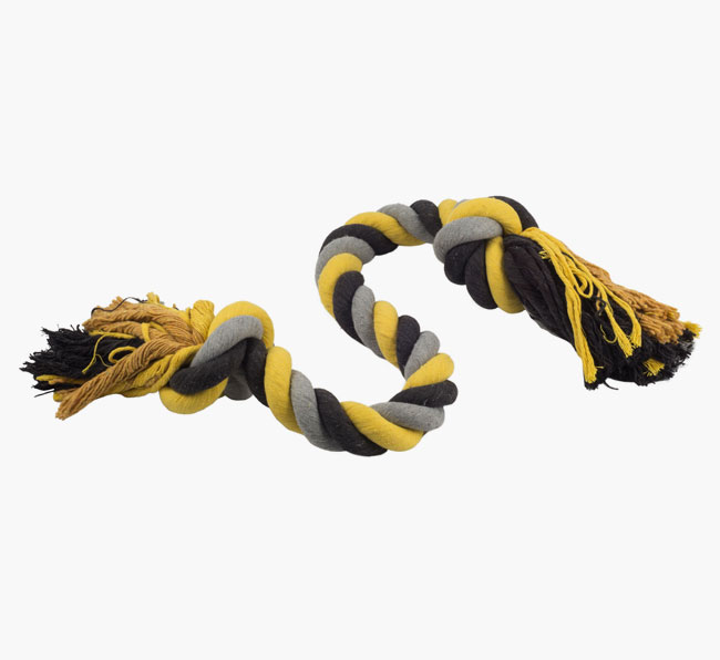 Ancol Jumbo Jaws Super Rope Toy