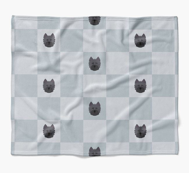 Luxury Cairn Terrier Checkerboard Blanket