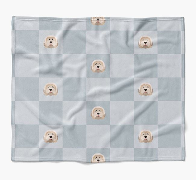 Luxury Mixed Breed Checkerboard Blanket
