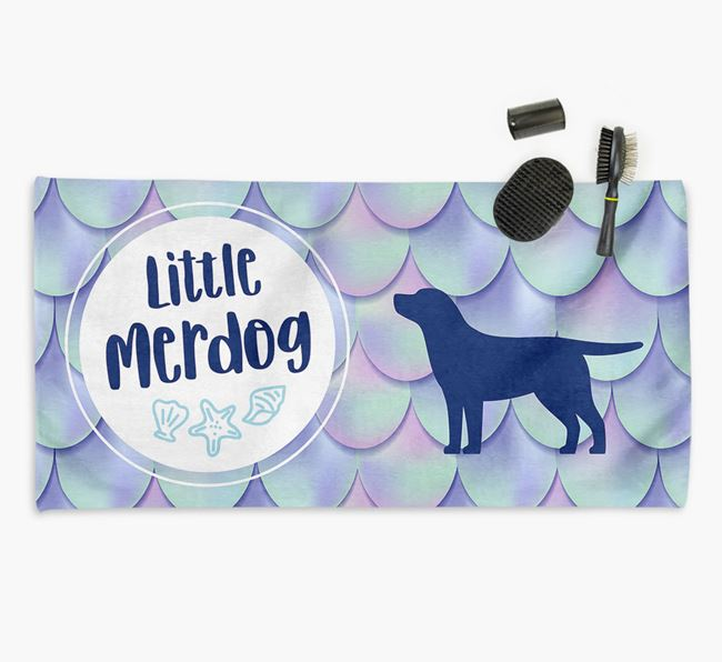 'Little Merdog'  Springador Towel