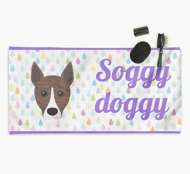 'Soggy Doggy' Towel for your Basenji