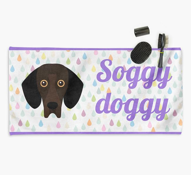 'Soggy Doggy' Towel for your Bassador