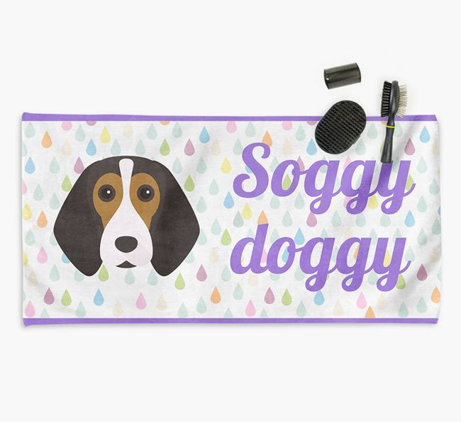 'Soggy Doggy' Towel for your Beagle