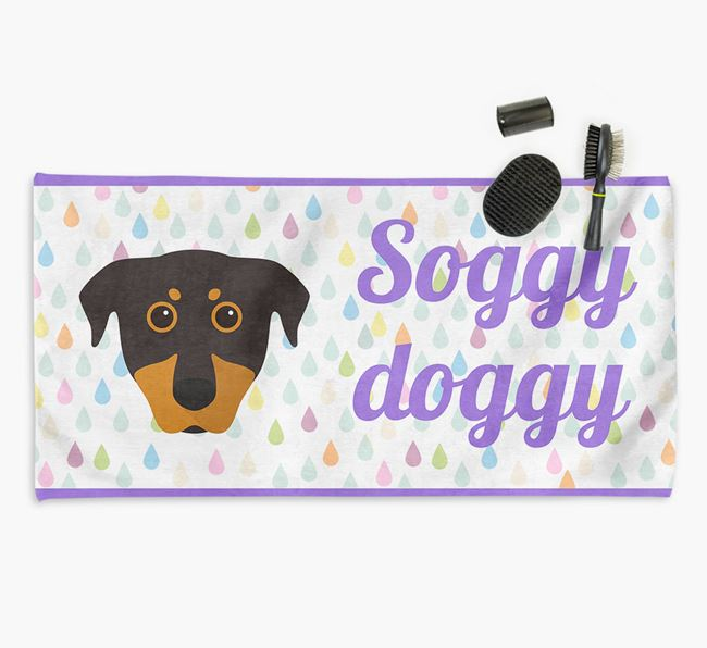 'Soggy Doggy' Towel for your Beauceron