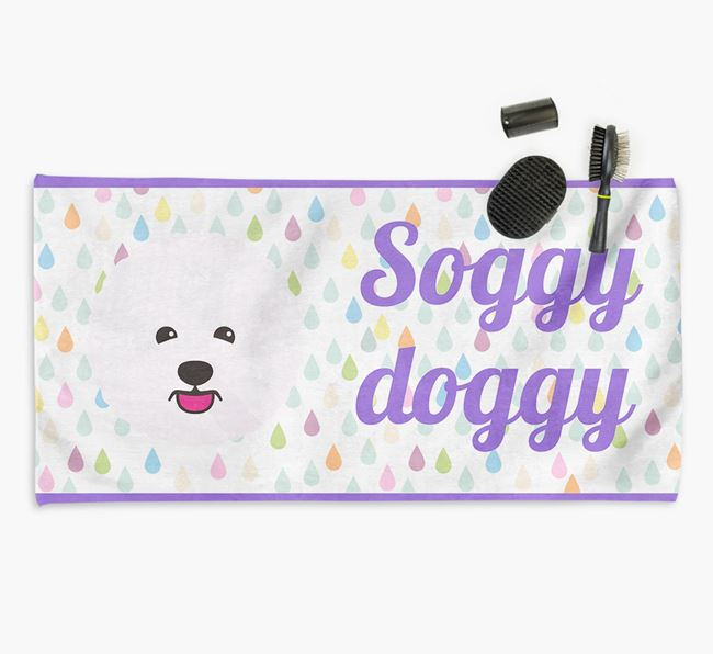 'Soggy Doggy' Towel for your Bichon Frise