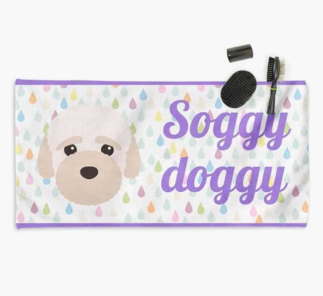 'Soggy Doggy' Towel for your Bich-poo