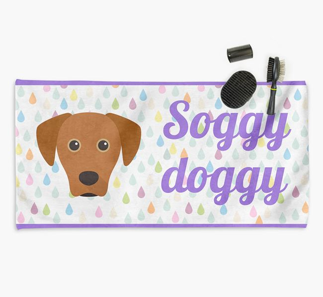 'Soggy Doggy' Towel for your Blue Lacy