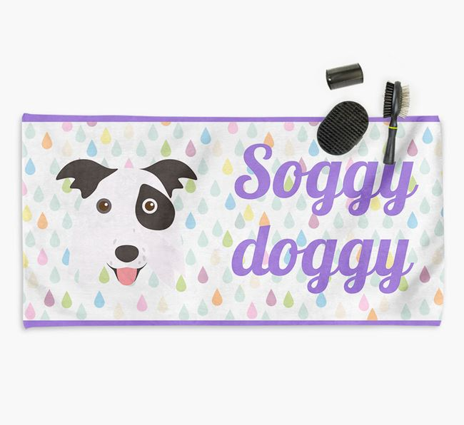 'Soggy Doggy' Towel for your Border Collie