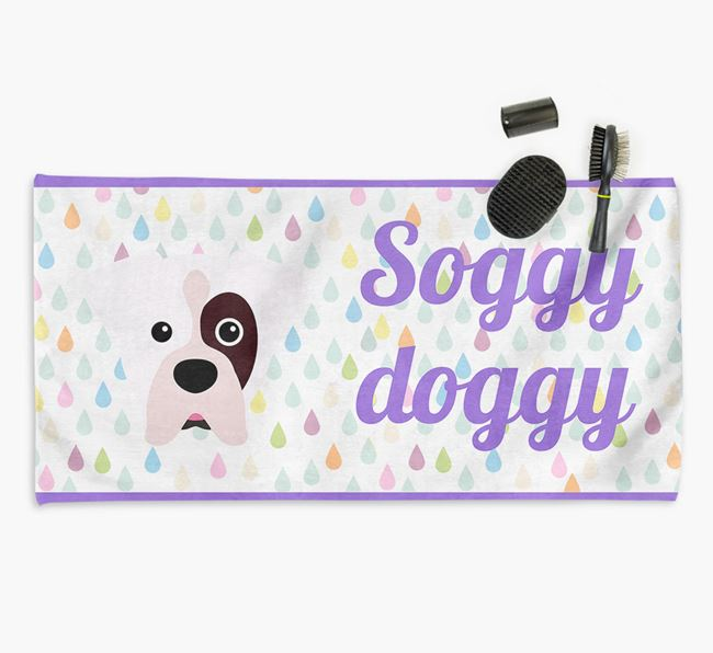 'Soggy Doggy' Towel for your Boxer