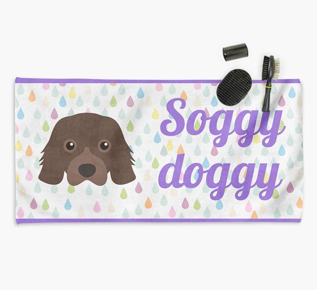 'Soggy Doggy' Towel for your Cavalier King Charles