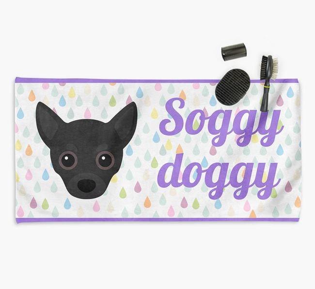 'Soggy Doggy' Towel for your Chihuahua