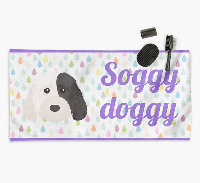 'Soggy Doggy' Towel for your Cockapoo