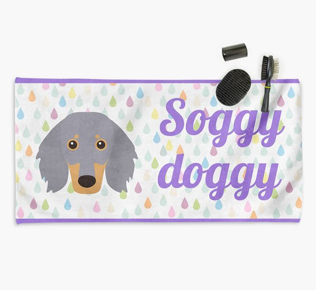 'Soggy Doggy' Towel for your Dachshund
