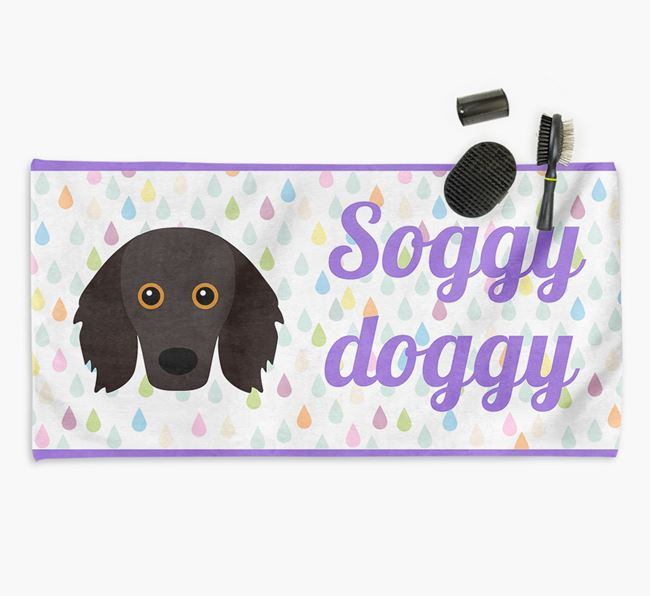 'Soggy Doggy' Towel for your Doodle