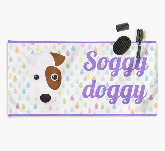 'Soggy Doggy' Towel for your Fox Terrier