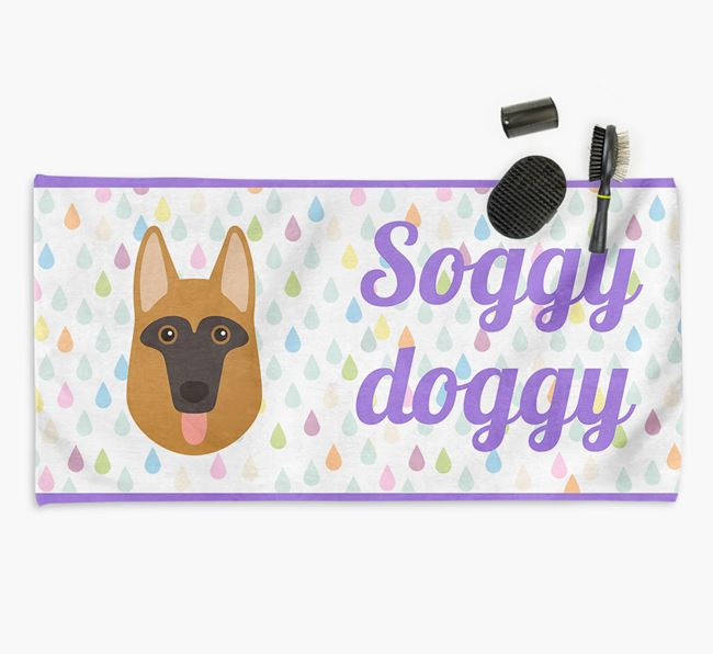 'Soggy Doggy' Towel for your Dog