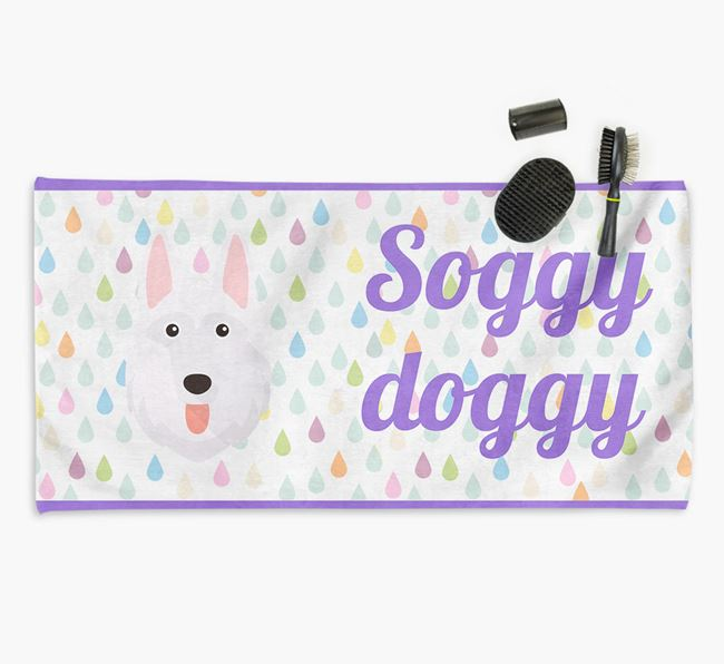 'Soggy Doggy' Towel for your German Shepherd