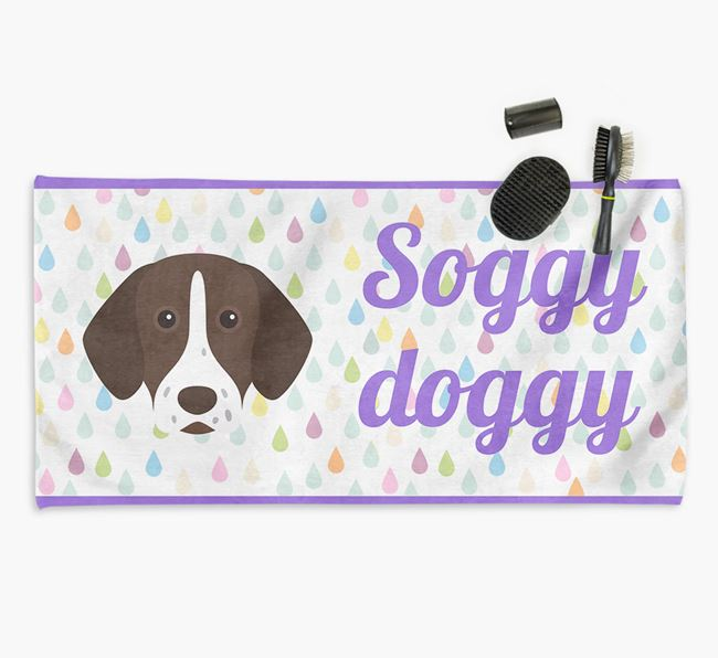 'Soggy Doggy' Towel for your Shorthaired Pointer