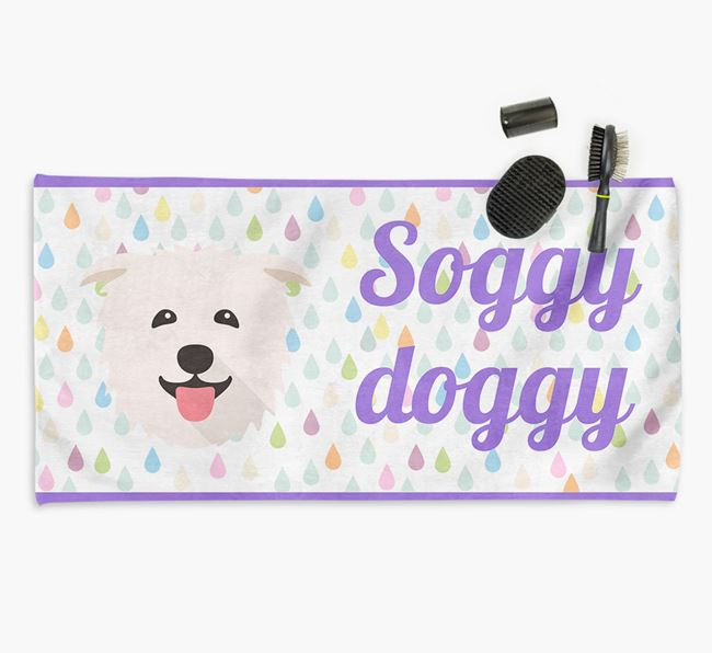 'Soggy Doggy' Towel for your Glen Of Imaal