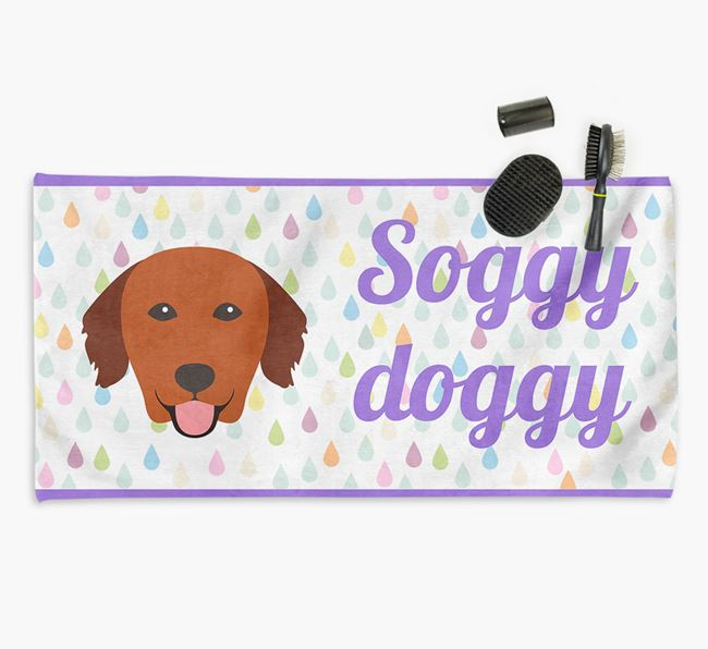 'Soggy Doggy' Towel for your Golden Retriever