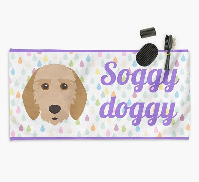 'Soggy Doggy' Towel for your Griffon Fauve