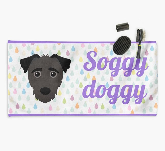 'Soggy Doggy' Towel for your Jack-a-Poo