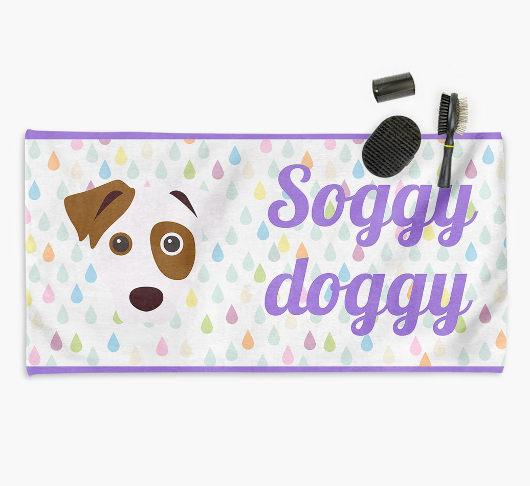 'Soggy Doggy' Dog Towel for your Dog