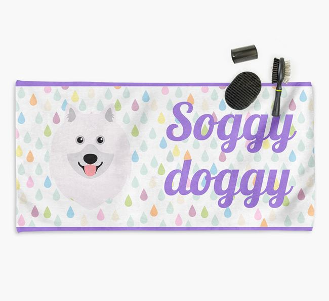 'Soggy Doggy' Towel for your Keeshond
