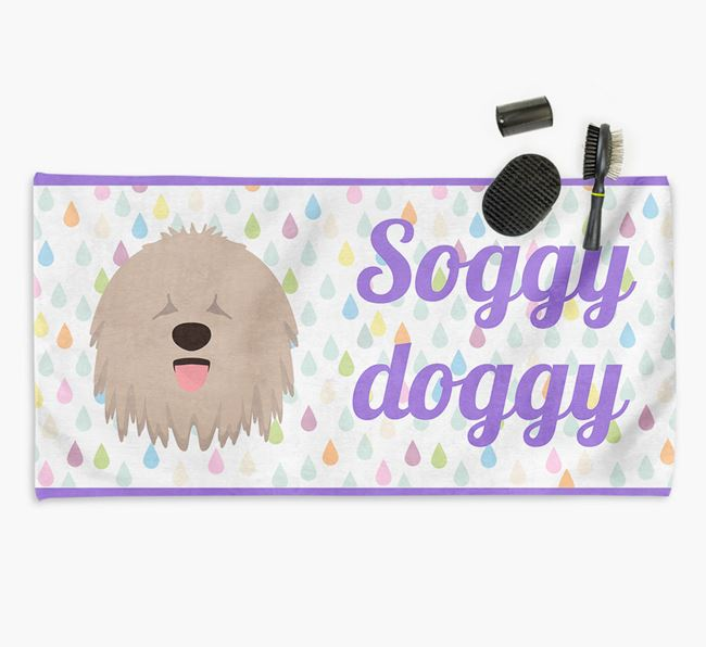 'Soggy Doggy' Towel for your Komondor