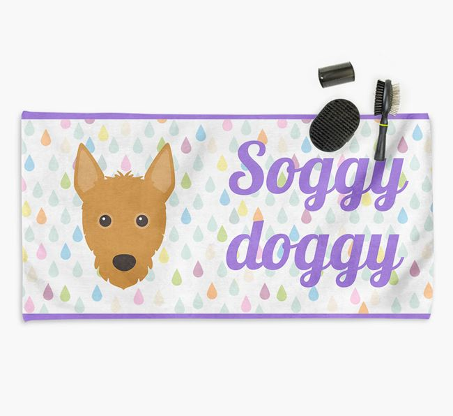 'Soggy Doggy' Towel for your Podengo