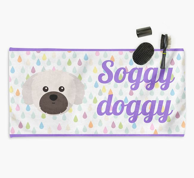 'Soggy Doggy' Towel for your Shih Tzu