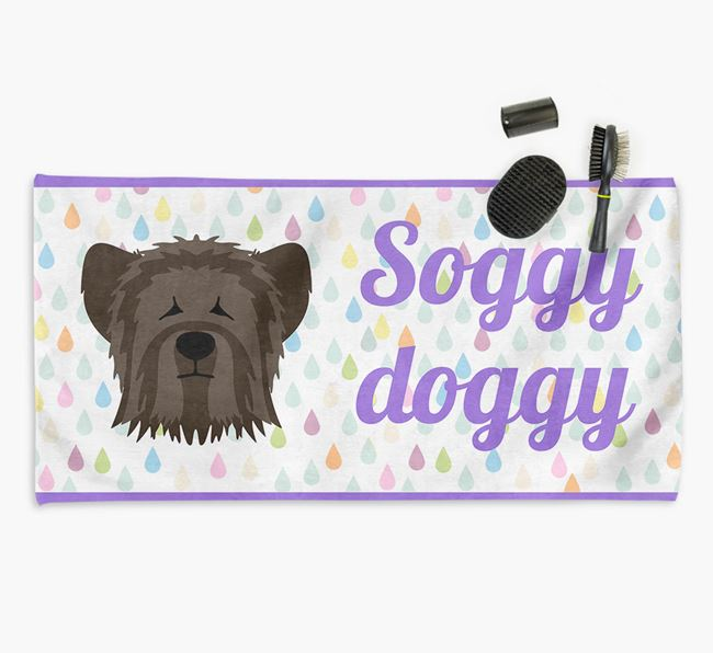 'Soggy Doggy' Towel for your Skye Terrier