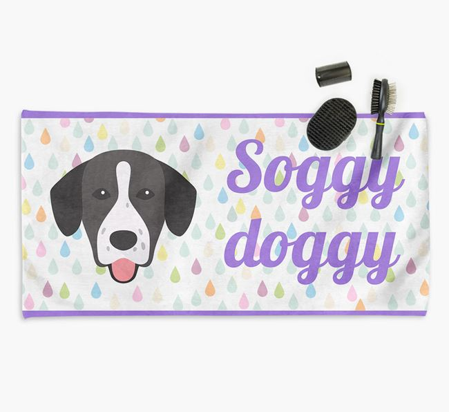 'Soggy Doggy' Towel for your Springador