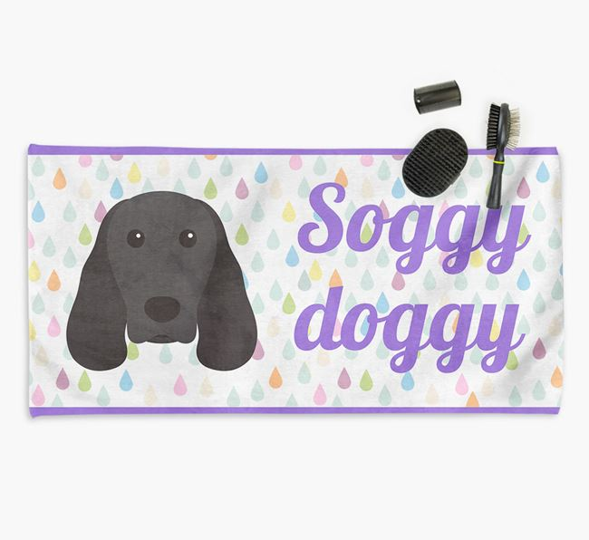 'Soggy Doggy' Towel for your Springer Spaniel
