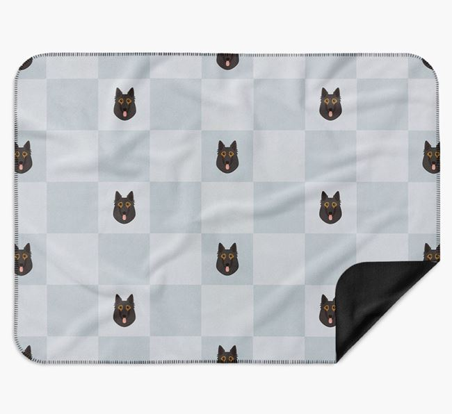 Luxury Belgian Tervuren Checkerboard Blanket