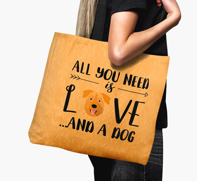 'All You Need Is Love...' Canvas Bag with Chinook Icon