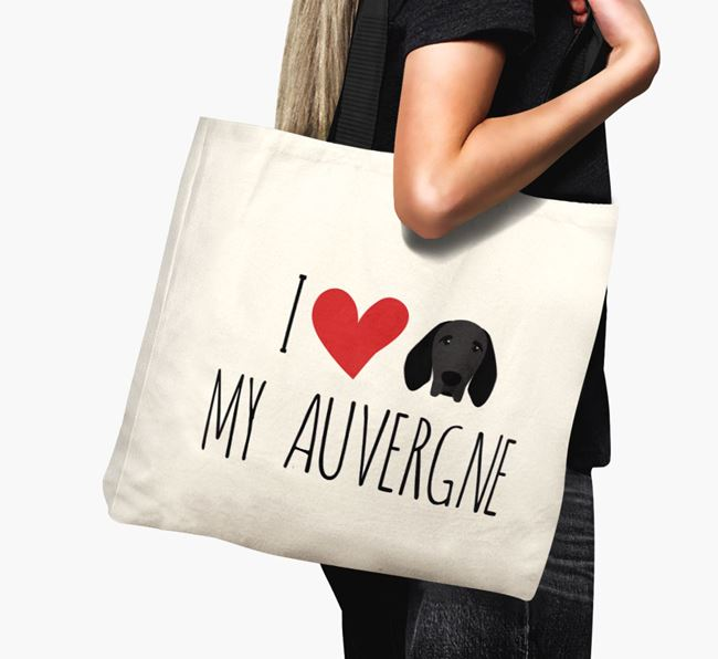 'I love my Auvergne' Canvas Bag