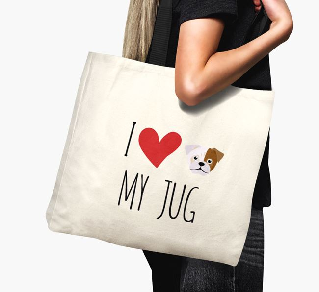 'I love my Jug' Canvas Bag