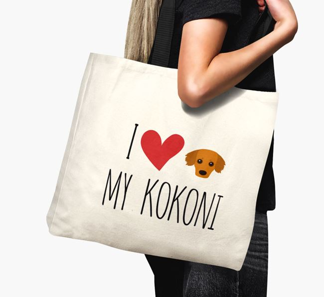 'I love my Kokoni' Canvas Bag