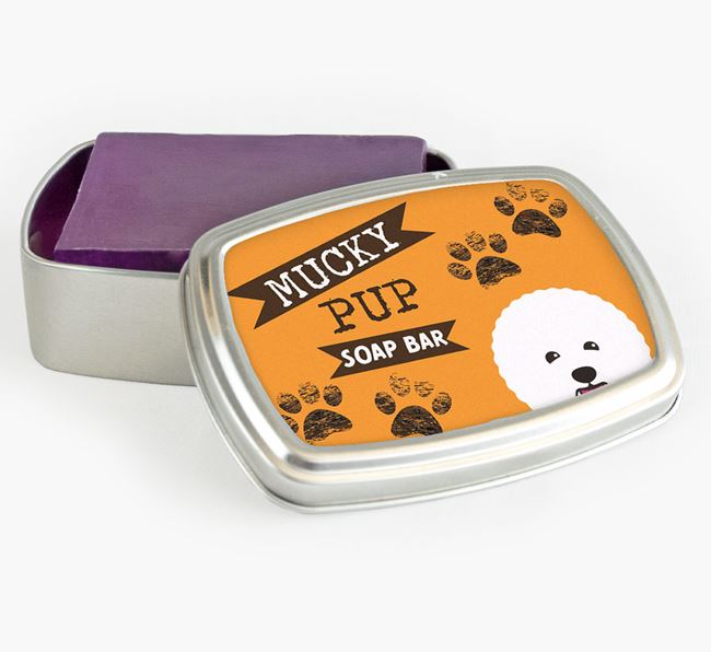 'Mucky Pup' Soap Bar for your Bichon Frise
