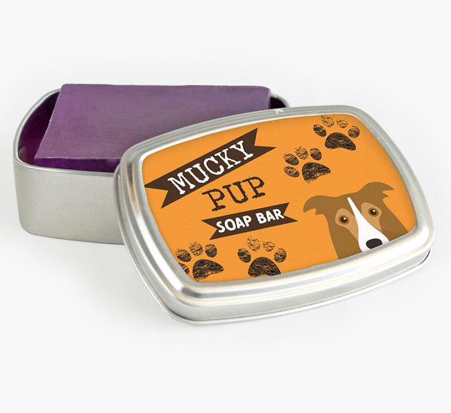 'Mucky Pup' Soap Bar for your Border Collie