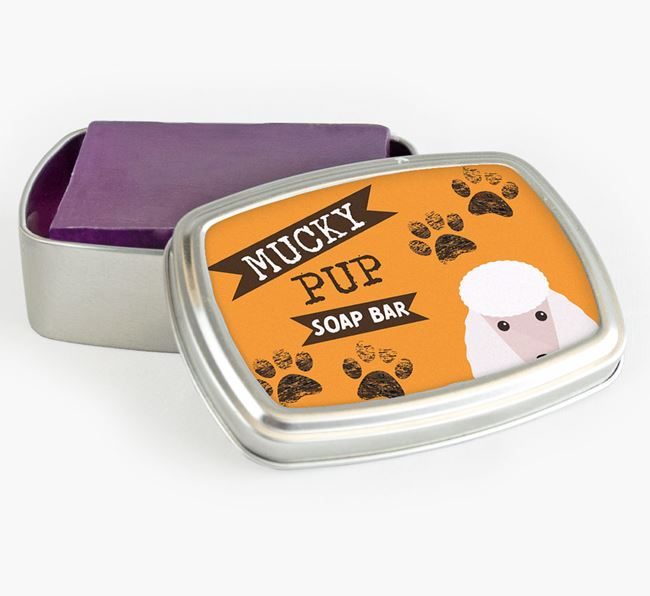 'Mucky Pup' Soap Bar for your Poodle