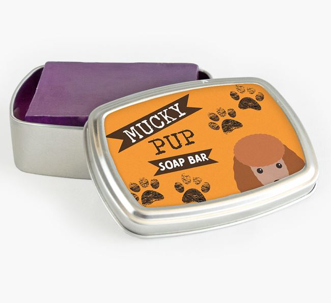 'Mucky Pup' Soap Bar for your Toy Poodle