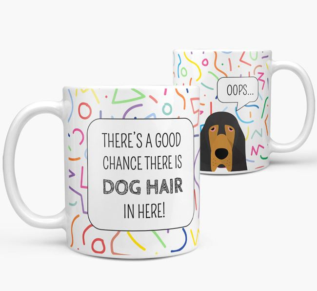 Oops' Mug with Bloodhound Icon